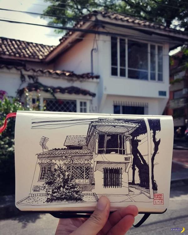 Рисунки архитектора