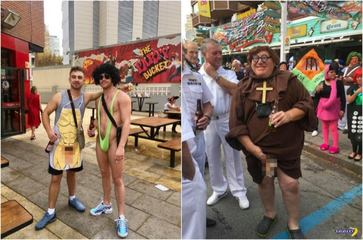 Парад плохого вкуса в Испании