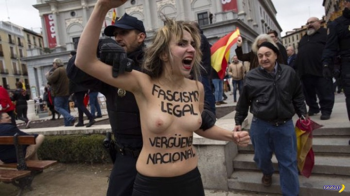 FEMEN против Франко