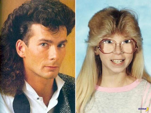 1980-ые –эпоха безумных причёсок!