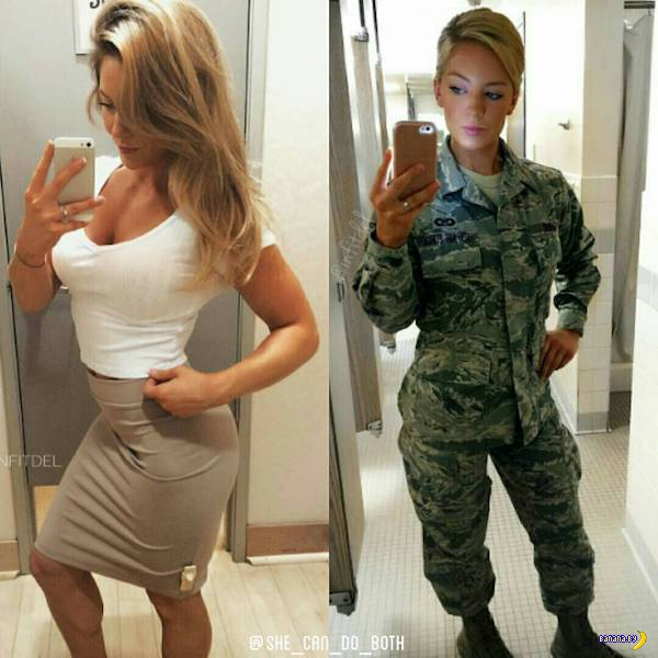 Униформа красит девушек!