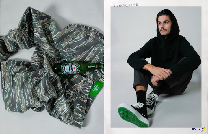 Пивная коллекция одежды #Heineken100