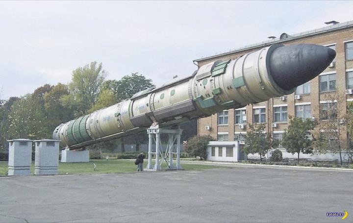 Украина хочет своё ядерное оружие