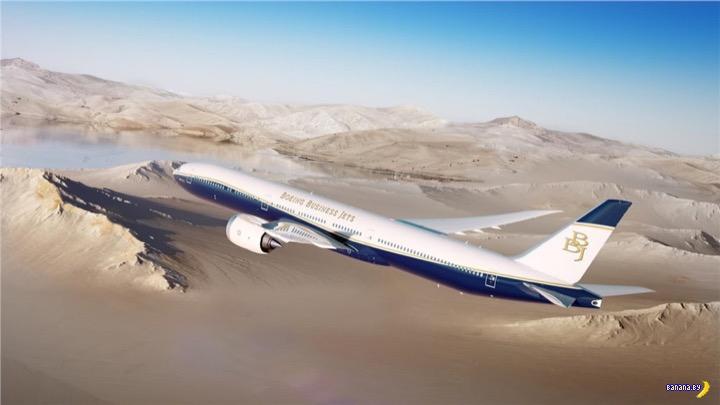 Новый Боинг BBJ 777X –летающий дворец