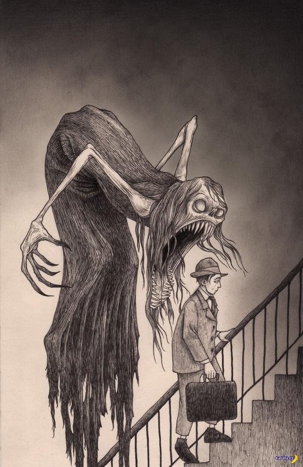 Хорошие рисунки, страшные!