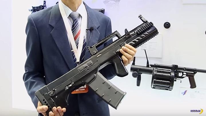 Российский спецназ начал получать автоматы ШАК-12