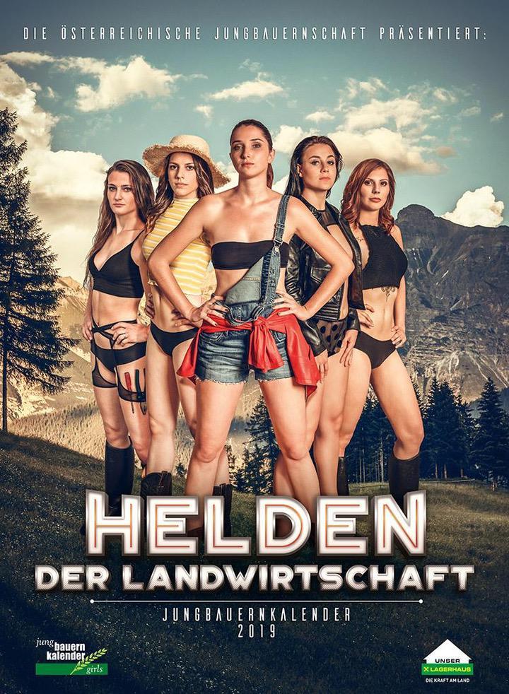 Календарь с фермерскими жёнами из Австрии