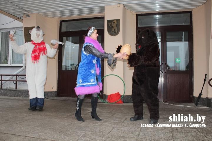 Детский праздник в Сморгони