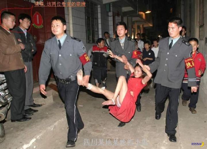 В Китае отменили перевоспитание проституток