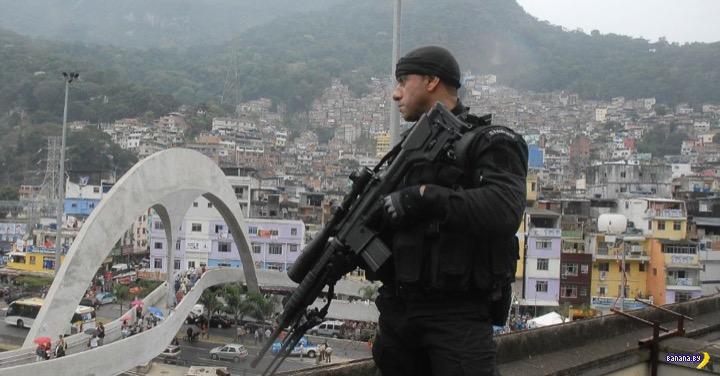 В Бразилии легализовали отстрел бандитов