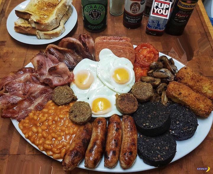 В Великобритании хотят ввести ограничения на калорийность блюд