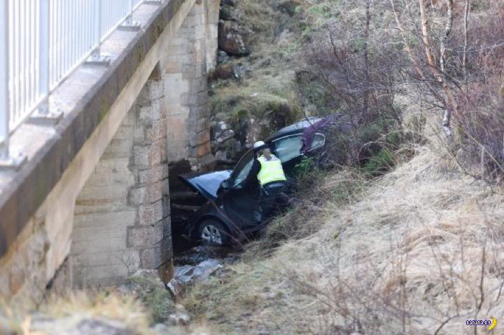 Машину с водителем нашли спустя два дня после пропажи
