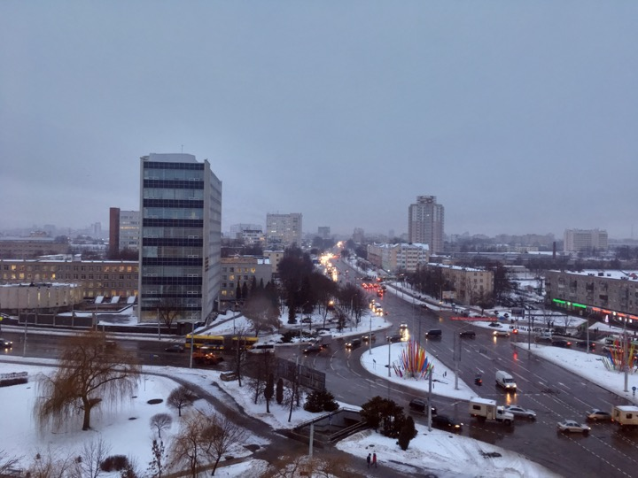 Погода: днем оттепель, ночью мороз