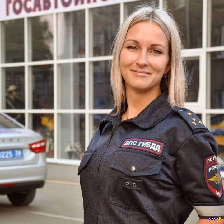 Секси барышни из российского ГИБДД