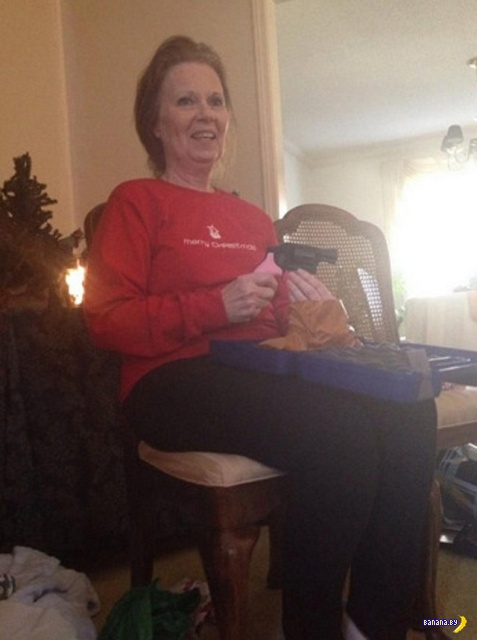 Американцы хвастаются рождественскими подарками