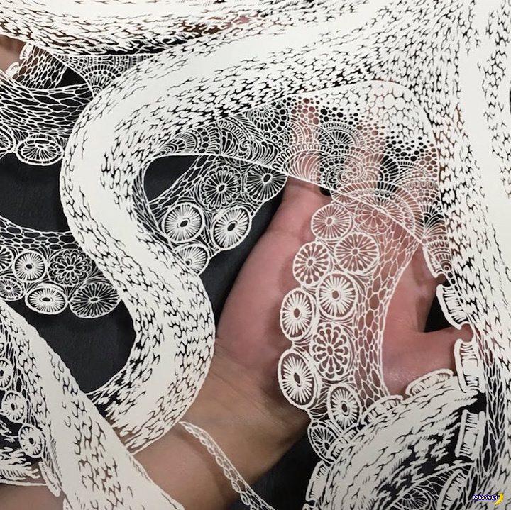 Невероятная работа японского художника