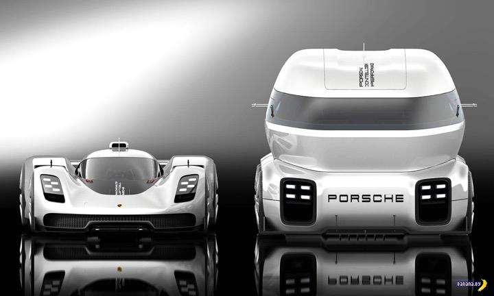 Компания Porsche пошла в грузовики?