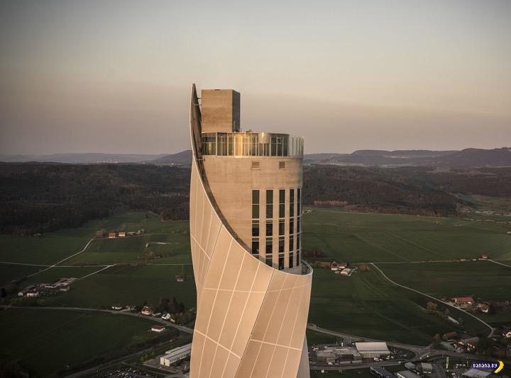 Таинственная башня в в Ротвайле, Германия