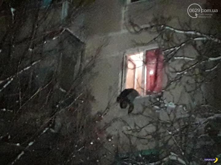 Взрыв гранаты на застолье в Мариуполе