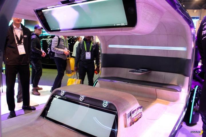 Автономные машинки от Kia