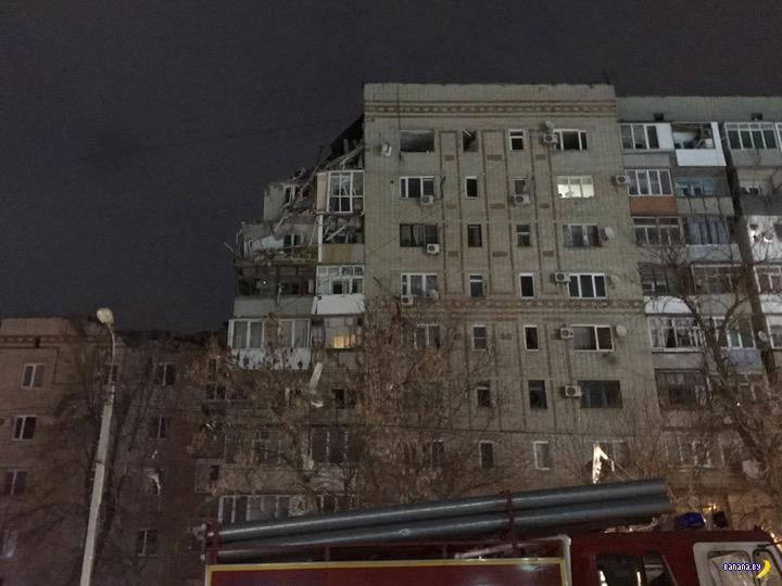 Взрыв газа в городе Шахты частично разрушил жилой дом