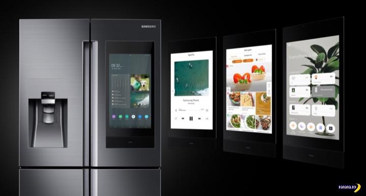 Очень уж умные холодильники Samsung