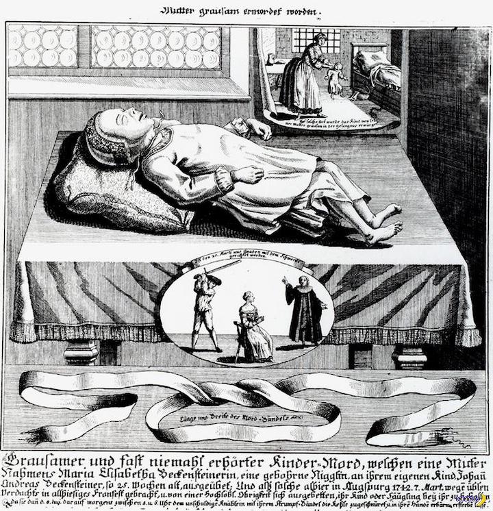 Как в XVIII веке женщины сводили счеты с жизнью