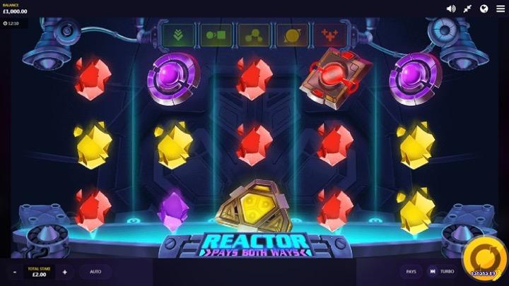 Новый игровой автомат в казино Вулкан Неон