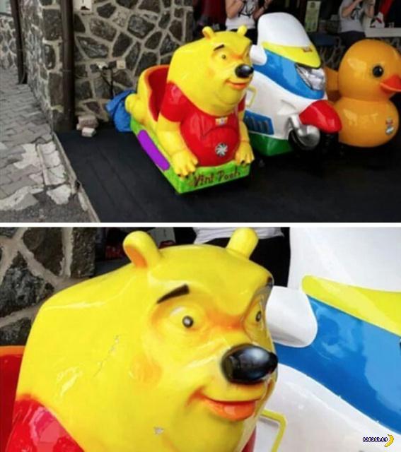 Разноцветный ад детских площадок