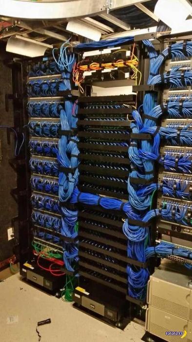 Это называется Cable Porn