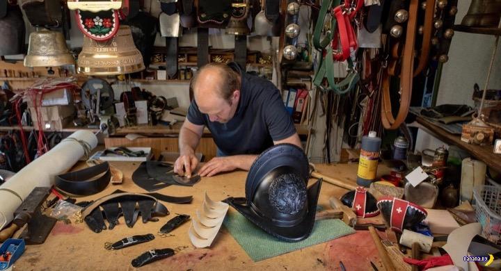 Шлемы для швейцарской гвардии печатают на 3D-принтере