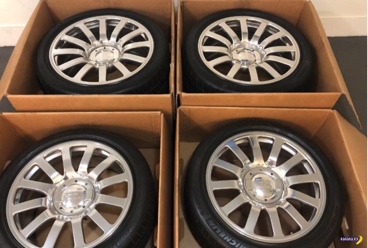 Кому колёса для Bugatti Veyron недорого?