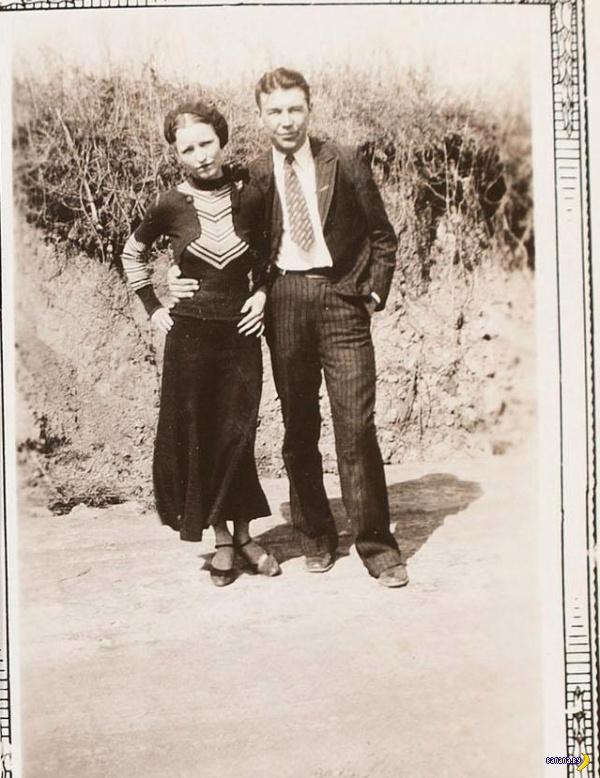 Неизвестные фотографии Бонни и Клайда