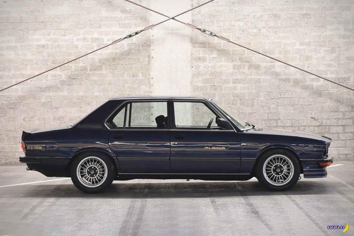 1982 BMW Alpina B7 S TURBO SEDAN
