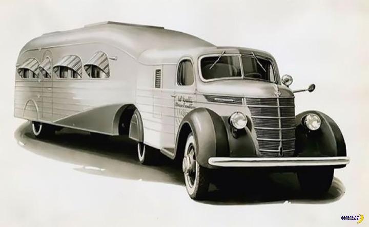 Американские кемперы из 1930-х