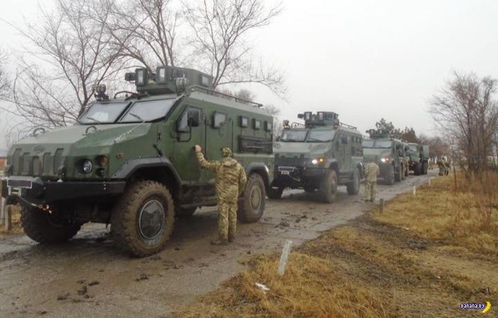 Украинские бронемашины Варта пошли на экспорт