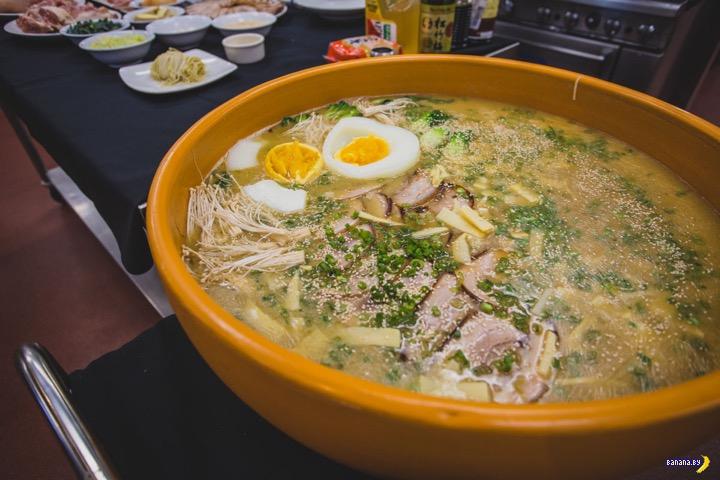 22 килограмма отличного супа рамен!