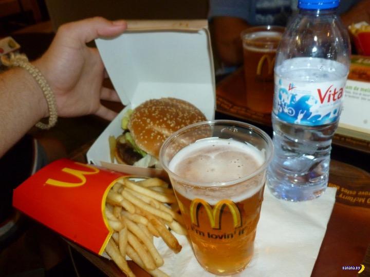 В России начнут продавать пиво в Макдональдс