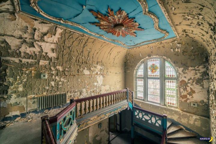 Красота старинных заброшенных зданий