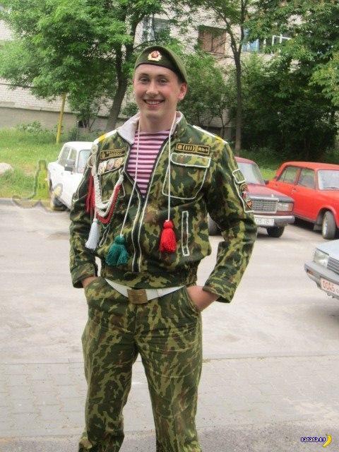 """Белорусские """"швейные войска"""" – мода дембелей!"""