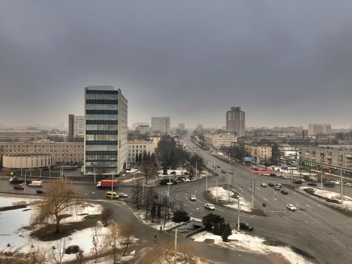 Погода: для середины февраля слишком тепло!