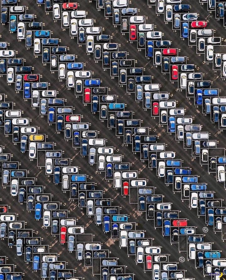 Немцы изобрели идеальную парковку