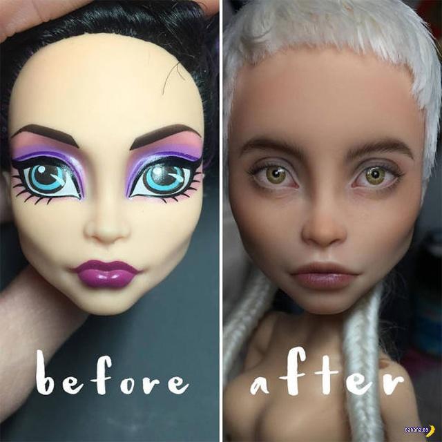 Тюнинг магазинных кукол - 2