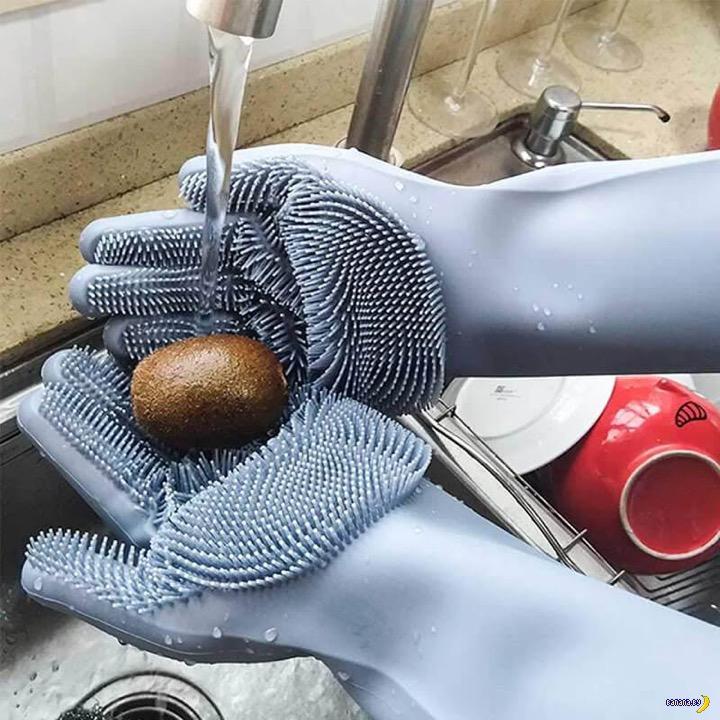 Продукция двойного назначения –перчатки для кухни