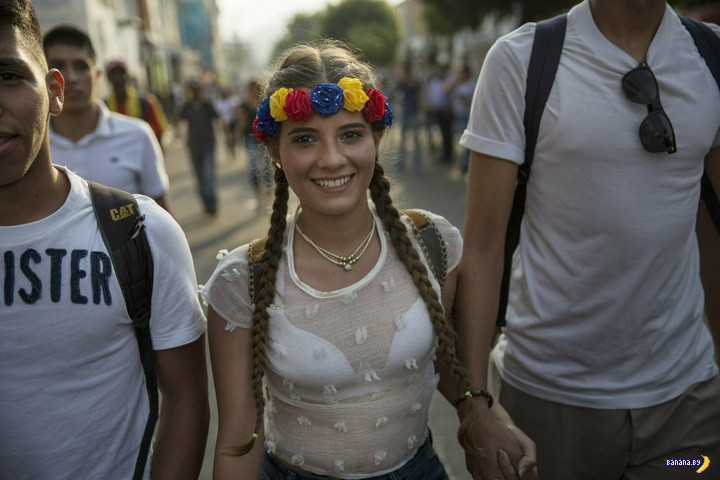 Венесуэла сейчас –много фотографий