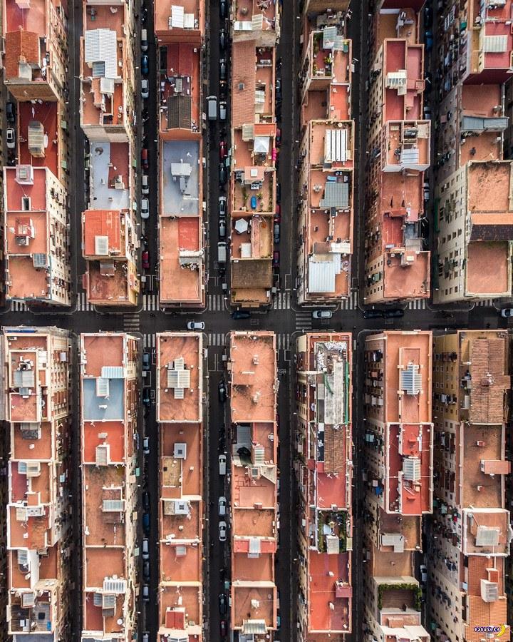 Барселона сверху – залипательные фото!
