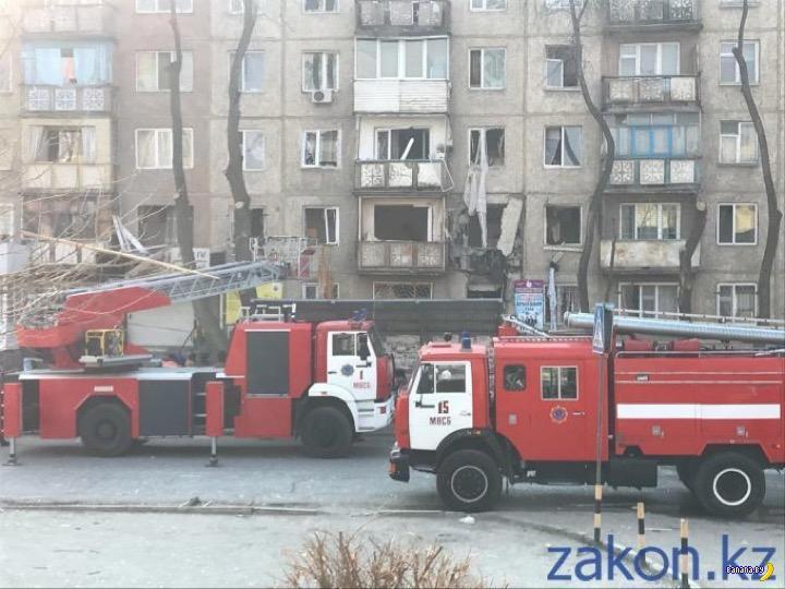 Взрыв газа в Казахстане: обрушилось 4 этажа