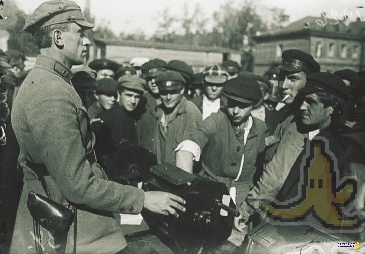 Жребий и служба в Красной Армии