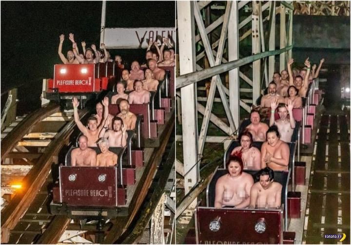 195 голых британцев поставили рекорд