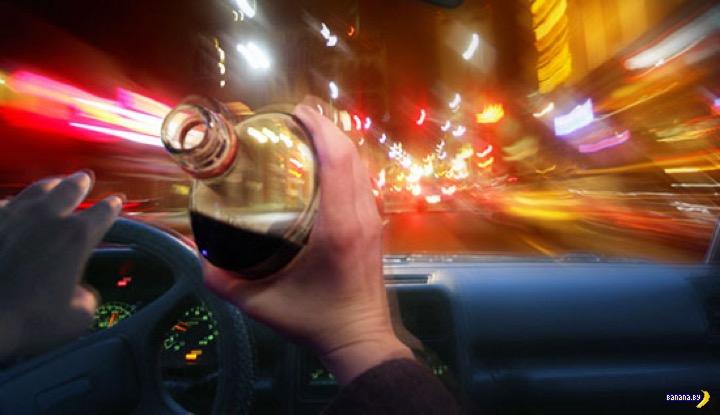 Пожизненное лишение прав за пьяную езду в Беларуси